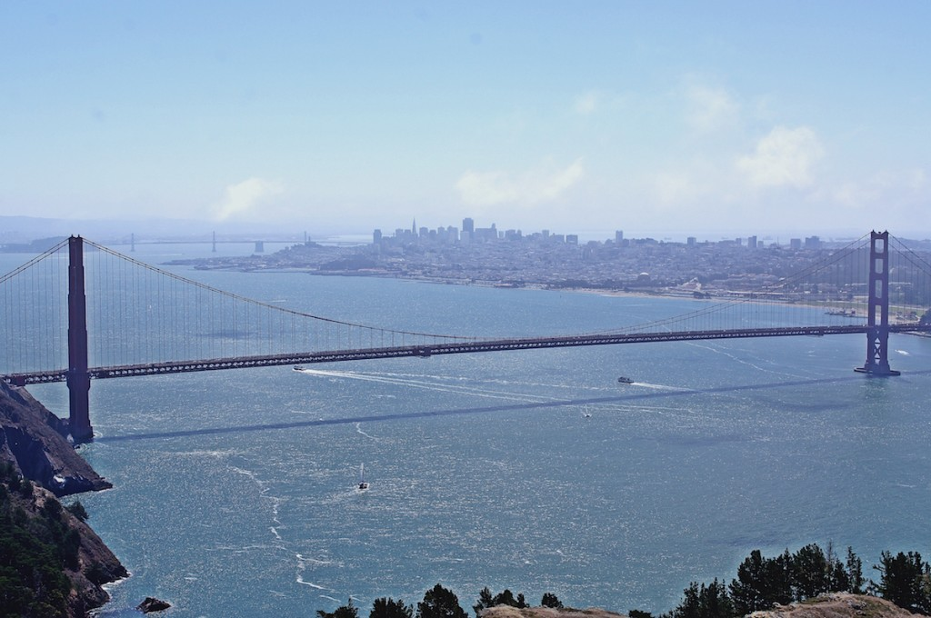 Golden Gate panorama from Conzelman Rd, Marin Headlands